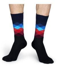 Happy Socks Socks Fd01-069 - Zwart