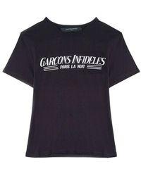 Garçons Infideles Guestlist T-shirt - Zwart