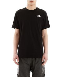 The North Face - T-shirt stampa logo redbox - Lyst