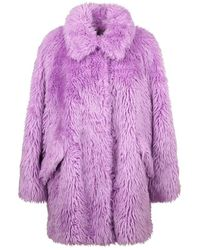 MSGM Cappotto - Paars