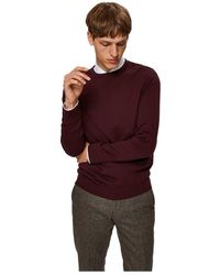 SELECTED 16074682 Berg Knitwear - Rood