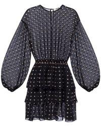 MSGM Polka Dot Dress - Zwart