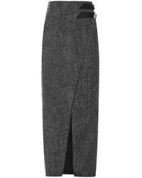 The Attico Skirt - Grijs