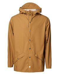 Rains Jacket - Oranje