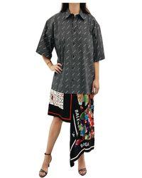 Balenciaga Kleid - Zwart