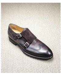 Magnanni Double buckle shoe - Marron