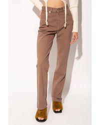 Jacquemus Le De Nimes jeans - Marron
