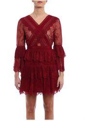 Self-Portrait Dress - Rood