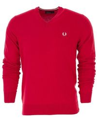 Fred Perry Sweater - Rood