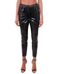 Calvin Klein Vinyl pants - Noir