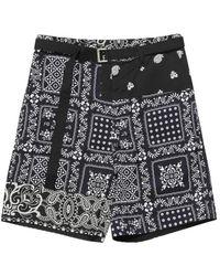 Sacai Shorts - Zwart
