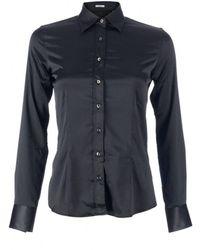 Robert Friedman Shiny blouse - Noir