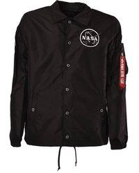 Alpha Industries Giacca Nasa Coach - Noir