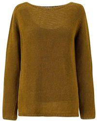 Max Mara Sweater - Geel