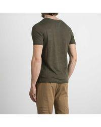 Alpha Industries T-shirt Con Dettagli - Vert