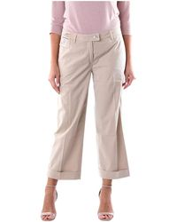 Re-hash P3902283 Cropped Trousers - Neutro