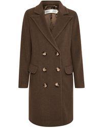 Inwear Coci Classic Coat - Bruin
