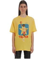 Telfar Reversible Mn03 Tee Lz - Geel