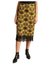 Essentiel Antwerp Pencil Skirt - Geel