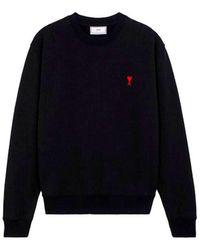 AMI Crewneck Sweatshirt - Zwart