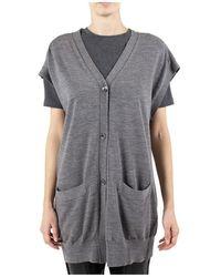 Erika Cavallini Semi Couture Sweater - Grijs