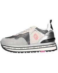Liu Jo Ba1057tx085 Hoge Sneakers - Grijs