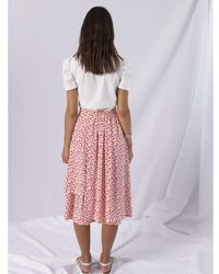 Anonyme Designers Skirt Rojo