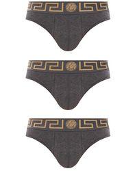 Versace - Briefs 3-pack - Lyst