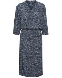 Soaked In Luxury Zaya Dress - Blauw