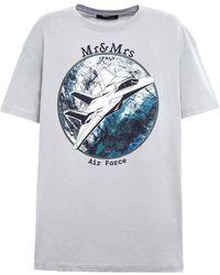 Mr & Mrs Italy T-Shirt - Grau