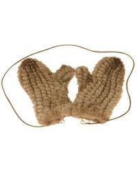 Max Mara Gloves - Bruin