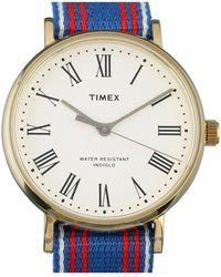 TIMEX ARCHIVE Watch - Abt535 - Blau