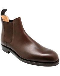 Crockett & Jones Chelsea boots - Marrón