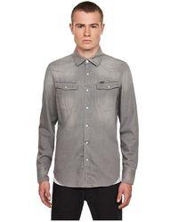 G-Star RAW Denim Shirt - Grijs