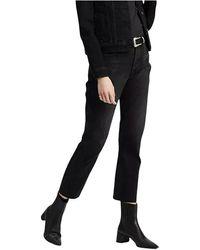 Levi's 501 Original Cropped Jeans - Zwart