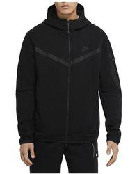 Nike Tech Hooded Fleece - Zwart