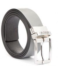 Armani Reversible Belt - Grijs