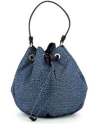 Borbonese Bag - Blauw