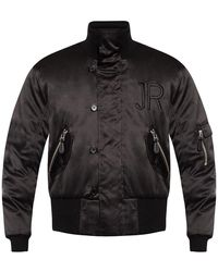 John Richmond Bomber Jacket - Zwart