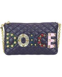 Dolce & Gabbana Cross Body Bag - Blauw
