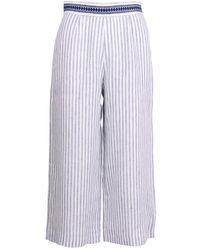 Ermanno Scervino - Linen Trousers - Lyst