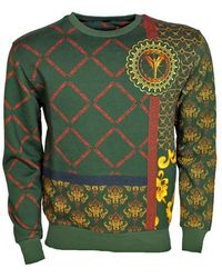 carlo colucci Sweater - Groen