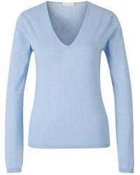 Santa Eulalia Cotton Sweater - Bleu