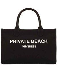 4giveness Borsa Private Beach Bag Fgaw0917-110 - Zwart