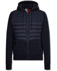 Tommy Hilfiger Hooded Jacket - Blau