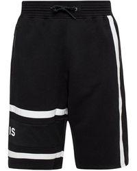 Givenchy Branded Zweet Shorts - Zwart