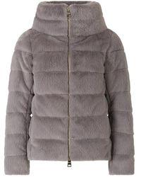 Herno Faux fur jacket - Grau