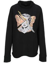 Undercover Knitwear Uc2a18952fleece - Zwart