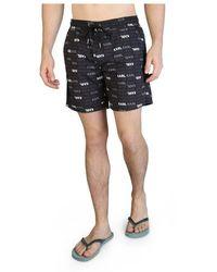 Karl Lagerfeld Swimming trunks kl21mbm06 - Noir