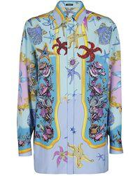 Versace Shirt - Blauw